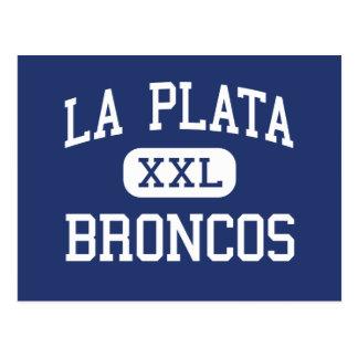 La Plata Broncos Middle Silver City Post Card