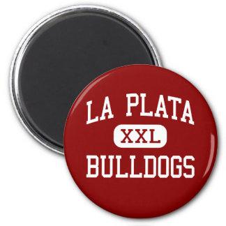 La Plata - Bulldogs - High - La Plata Missouri 2 Inch Round Magnet
