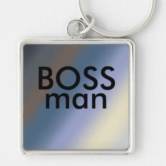 La plata del llavero del hombre de BOSS/roba