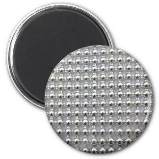La plata gotea el modelo imán redondo 5 cm