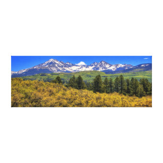 La Plata Mountains, West Side Canvas Print