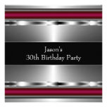 La plata roja negra sirve a la trigésima fiesta de comunicados personales