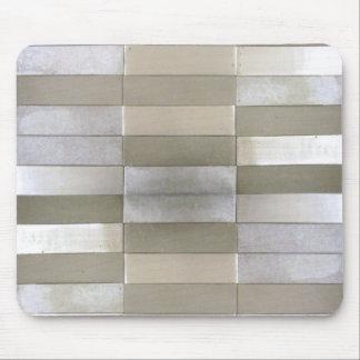 La plata tejó Mousepad Tapete De Raton