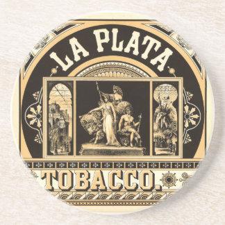 La Plata Tobacco Company - Cigarette Advertising T Coaster
