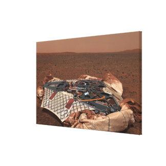 La plataforma de aterrizaje del vagabundo impresiones en lienzo estiradas