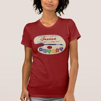 La plataforma del artista camisetas
