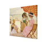 La playa, 1929 lienzo envuelto para galerias
