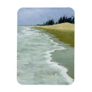 La playa 2004 iman de vinilo