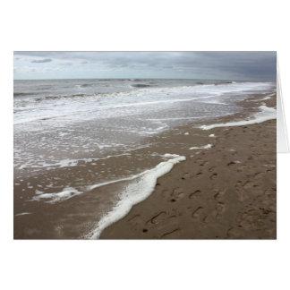 La playa aan holandesa 2010 de Egmond Zee 05 puede Tarjeta De Felicitación