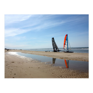La playa aan holandesa de Egmond Zee puede 2010 Postales