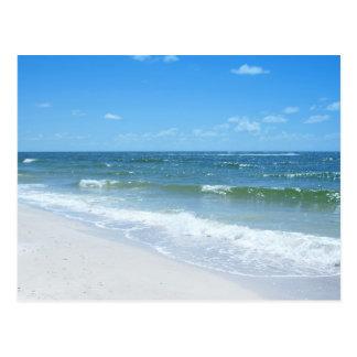 La playa agita III Postal