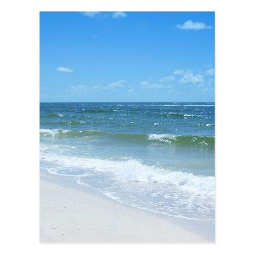 La playa agita III Tarjetas Postales