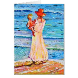 La playa CDM de la madre Tarjeton