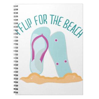 La playa cuadernos