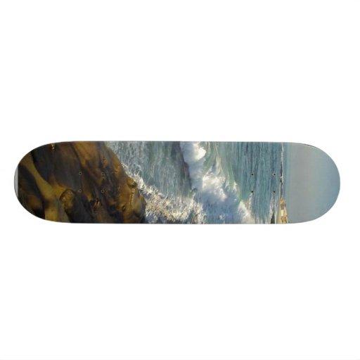 La playa de la ensenada de La Jolla agita el océan Monopatines Personalizados