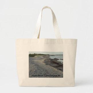 La playa de Lloyd, pequeño Compton, RI Bolsa De Tela Grande