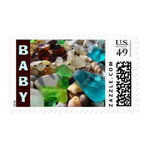 La playa de los sellos del BEBÉ atesora franqueo a