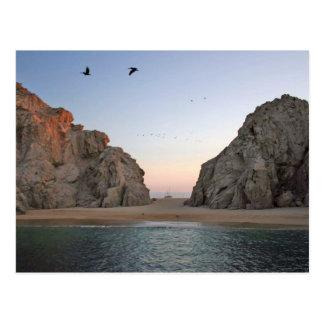 La playa del amante de Cabo San Lucas México Postal