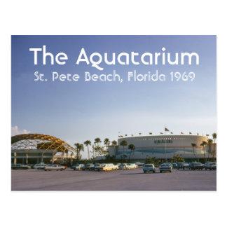 La playa del St Pete de Aquatarium postal de la