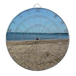 La playa tablero de dardos
