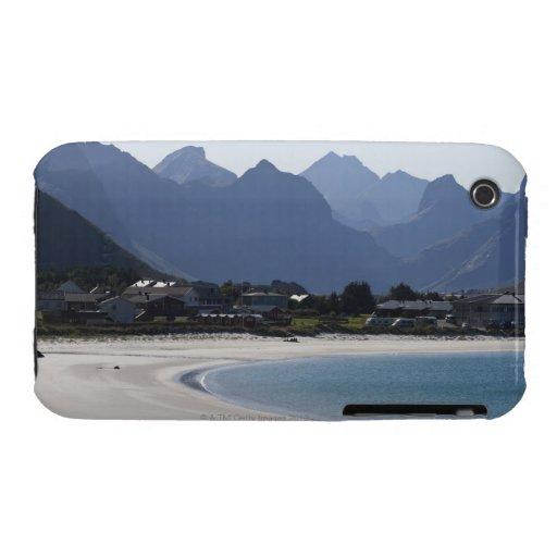 La playa en Ramberg es famosa por sus 2 blancos iPhone 3 Cobertura