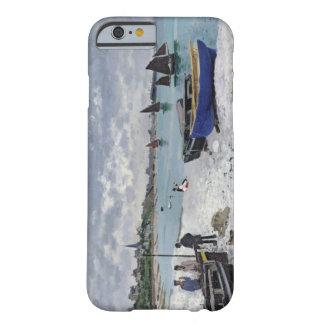 La playa en Sainte-Adresse, 1867 Funda De iPhone 6 Barely There