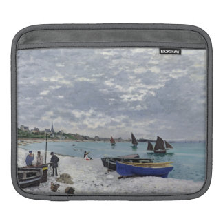 La playa en Sainte-Adresse, 1867 Mangas De iPad