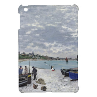 La playa en Sainte-Adresse, 1867 iPad Mini Protectores