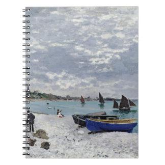 La playa en Sainte-Adresse, 1867 Libro De Apuntes