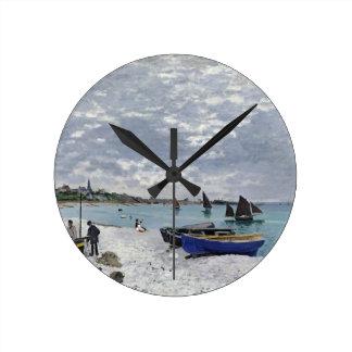 La playa en Sainte-Adresse, 1867 Relojes