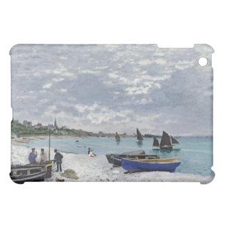 La playa en Sainte-Adresse - Claude Monet