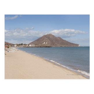 La playa en San Felipe en el mar de Cortez Postal
