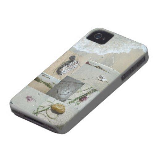 La playa encuentra el caso del iPhone 4/4S Case-Mate iPhone 4 Cobertura