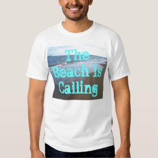 La playa está llamando la camisa CricketDiane de