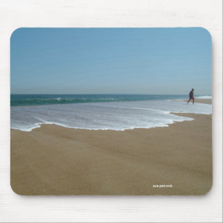 La playa mA 020 de Salisbury, demanda el pavo real Tapetes De Ratón