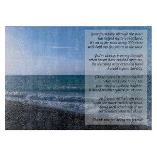 La playa más estimada del poema del amigo agita a tablas de cortar