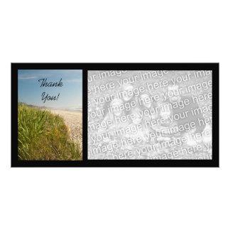 La playa natural le agradece tarjetas fotográficas