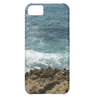La playa resuelve el océano funda para iPhone 5C