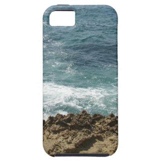 La playa resuelve el océano iPhone 5 carcasas