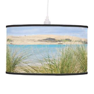 La playa se chiba la pantalla lámpara de techo
