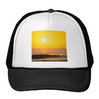 La playa Sun besado agita Kauai Hawaii Gorras