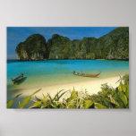 """La playa"" Tailandia Poster"