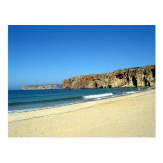 La playa postales