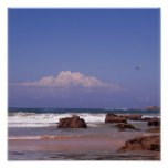 La playa y usted impresiones