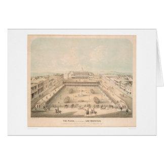 La plaza, cuadrado de Portsmouth, S.F. (1335A) Felicitaciones