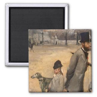 La plaza de la Concordia, 1875 Imanes Para Frigoríficos