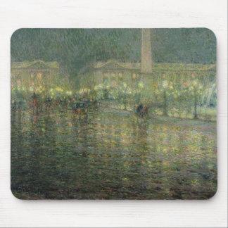 La plaza de la Concordia, c.1909 Alfombrillas De Ratón