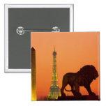 La plaza de la Concordia; Torre Eiffel; Obelisco; Pin Cuadrado