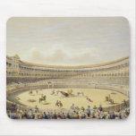 La plaza de Toros de Madrid, 1865 (litho del color Alfombrillas De Ratón