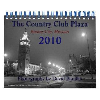 La plaza del club de campo calendarios de pared